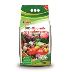 Obornik kurzak granulowany 10l  BIO Planta