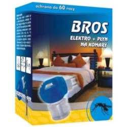 Bros elektro + płyn na komary 8%