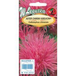Aster chiński igiełkowy różowy 1g L